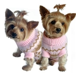 Pink Snowflake Dog Sweater, dog sweaters, big dog clothes, large dog sweaters, winter clothing