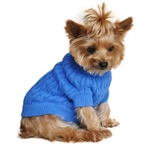 Cable Knit Dog Sweater dog sweaters, big dog clothes, large dog sweaters,