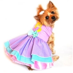 Polka Dot Mermaid Dog Dress, BowWowsBest.com | Dog Dress, Dog Designer Dress, Dog Clothes, dresses for dogs, Doggie Design