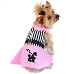 Pink Poodle Designer Dog Dress, BowWowsBest.com,  Dog Dresses, Dog Designer Dress, Dog Clothes, Doggie Design