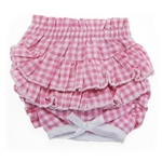 Ruffled Pink Gingham Dog Panties, Dog Panties, Dog Underwear, Designer Dog Panties, Dog Clothes, Girl Dog Clothes, Designer Dog Clothing, Dog Accessories, Dog Leads, Dog Leashes, Dog Beds, Designer Dog Beds