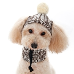 Dog Sweater Hat, dog hats, dog sweaters, dog winter clothes