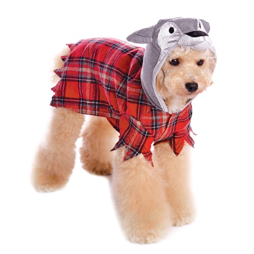 Werewolf Plaid Dog Outfit For Halloween From Bowwowsbest