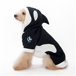 Killer Whale Dog Sweater from BowWowsBest.com,  Dog Sweaters, Dog costumes, Halloween attire for dogs; big dog costumes