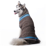 City V-Neck Dog Sweater,  dog sweaters, sweaters for dogs, BowWowsbest.com, large dog attire, big dog clothes, large dog sweaters, sweaters for big dogs