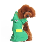 Frog Dog Raincoat, dog raincoats