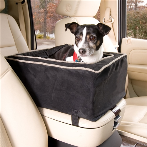 luxury console pets cars booster seat luxury small dogs travel seats storage kit ebay. Black Bedroom Furniture Sets. Home Design Ideas