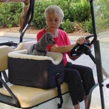 Snoozer Golf Cart Lookout Dogs Golf Seat
