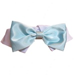 Aqua Satin Dog Bow Tie | Dog Collars, Designer Dog Clothes, Designer Dog Formal Wear, Dog Clothing, Designer Dog Harnesses, Dog Leads, Dog Beds, Dog Leashes and Dog Accessories from BowWowsBest.com