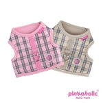 Victorian Pinka Dog Harness, Dog Harness, small dog harness, BowWowsbest.com, Pinkaholic