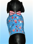 Patriotic Red White & Blue Dog Vest, dog harnesses, dog costumes, big dog clothes, patriotic dog vest, red white & blue dog vests