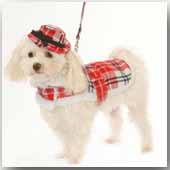 Red Plaid Coats - Sizes to fit 1 thru 70 pounds