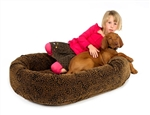 Bowser Diamond Donut Dog Bed, Dog Beds, Designer Dog Beds, donut beds, BowWowsbest.com