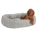 Bowser Platinum Donut Dog Bed, Dog Beds, Designer Dog Beds, donut beds, BowWowsbest.com