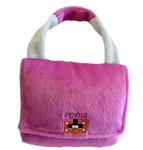 Fendig Pink Dog Purse, dog toys