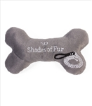 50 Shades of Fur Bone Dog Toy, dog toys