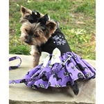 Halloween Dog Harness Dress, dog costume harness,  Halloween dog dresses