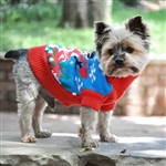 Ugly Snowman Holiday Dog Sweater, dog sweaters, big dog clothes, large dog sweaters, BowWowsbest.com, Doggie Design