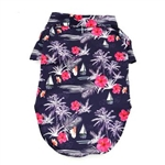 Hawaiian Camp Dog Shirt, big dog clothing