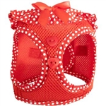 American River Ultra Choke Free Polka Dot Harness, mesh harnesses for dogs, dog mesh harness, harnesses for dogs, Doggie Design, BowWowsBest.com