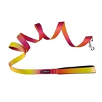American River Ombre Leash-Raspberry Pink & Orange, dog leads