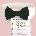 Black Bow Tie Set