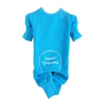 Blue Sweet Dreams Thermal Pajamas, dog pajamas