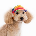 Rainbow Dog Hat, dog Halloween costumes, dog hats, dog caps
