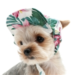 Tropical Island Dog Hat, Dog caps, dog visors