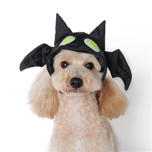 Larger Photo Email A Friend  sc 1 st  BowWowsBest & Bat Dog Hat Dog Hat dog Halloween costumes dog hats dog caps