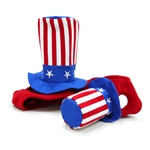 Uncle Sam Dog Hat, Dog Hat, dog Halloween costumes, dog hats, dog caps, patriotic dog hats