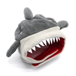 Shark Dog Hat from BowWowsBest.com | Dog caps, hats and visors, Halloween dog costumes