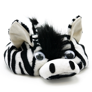 Zebra Dog Hat from BowWowsBest.com | Dog caps, hats and visors, Halloween dog costumes