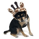 Giraffe Dog Hat from BowWowsBest.com | Dog caps, hats and visors, Halloween dog costumes