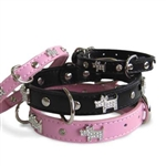 Doggie Bling Dog Collar Dog Collars, Rhinestone dog collars