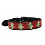 VIP Bling Dog Collar, Dog Collars, Rhinestone dog collars, Christmas attire