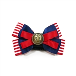 EasyBOW Nautical 4 Dog Collar Bow