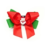 EasyBOW Christmas 2 Dog Collar Bow