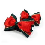 EasyBOW Christmas 3 Dog Collar Bow
