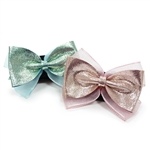 EasyBOW Glitter 1 Dog Collar Bow