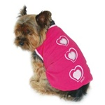 Heart Dog Tank from BowWowsBest.com | The Best Dog Clothing, Dog Clothes, Designer Dog Clothing, Dog Apparel, Dog Accessories, Dog T-Shirts, Dog Tanks