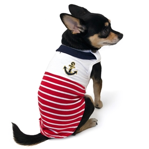 Nautical Dog Tank, dog clothes, dog tanks, dog shirts, bowwowsbest.com