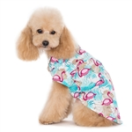 Flamingo Island Dog Shirt