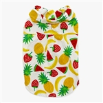 Fruitlicious Dog Shirt, dog clothes, dog tanks, dog shirts, bowwowsbest.com