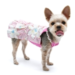 Summer Flower Dog Dress, dog clothes, dog dresses,  casual dog dresses, fancy dog dresses, bowwowsbest.com