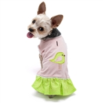 Little Birdy Dog Dress, dog clothes, dog dresses,  casual dog dresses, fancy dog dresses, bowwowsbest.com