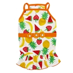 Fruitlicious Dog Dress, dog clothes, dog dresses,  casual dog dresses, fancy dog dresses, bowwowsbest.com