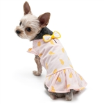 Banana Dog Dress, dog clothes, dog dresses,  casual dog dresses, fancy dog dresses, bowwowsbest.com