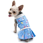 Summer Beach Dog Dress, dog clothes, dog dresses,  casual dog dresses, fancy dog dresses, bowwowsbest.com