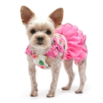 Floral Flounce Dog Dress, dog clothes, dog dresses,  casual dog dresses, fancy dog dresses, bowwowsbest.com